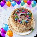 Happy Birthday Photo On Cake App icon