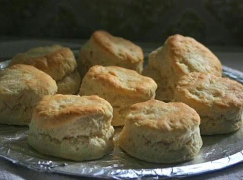 Tender Homemade Sour Cream Biscuits (No-Fail recipe)