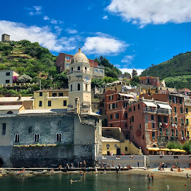 Vernazza Italy by Mike Hotovy - Instagram & Mobile iPhone
