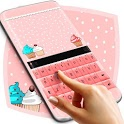 Cupcakes Pink Keyboard Theme icon