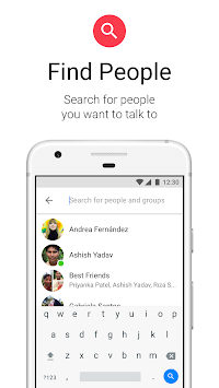 Messenger Lite Prin Facebook APK screenshot thumbnail 6
