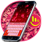 Rose Petals Keyboard Theme