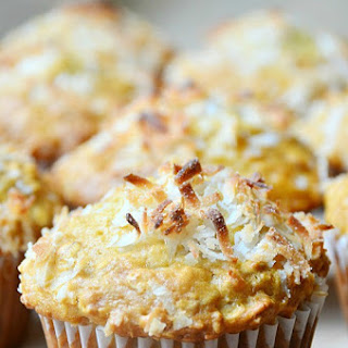 Coconut Oat Muffins