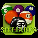 3D Pool game - 3ILLIARDS icon