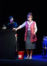 Photo: Wien/ Kammerspiele: DER NACKTE WAHNSINN von Michael Freyn. Inszenierung: Folke Braband. Premiere 14.10.2015. Martin Niedermair, Ulli Maier. Copyright: Barbara Zeininger