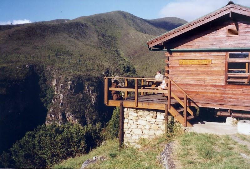 Blaauwkrantz hut