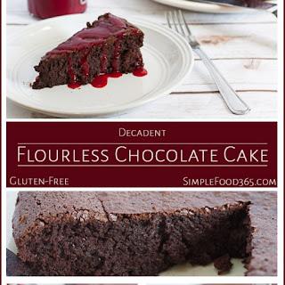 Decadent Flourless Chocolate Cake