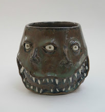 """Photo: Mug 10 * Doubleface * 3.25"""" tall. *  Holds ~ 1 cup"""