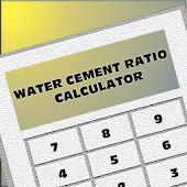 Water Cement Ratio Calc