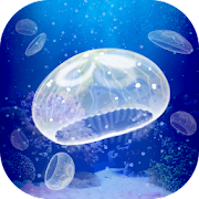 Healing jellyfish breeding game