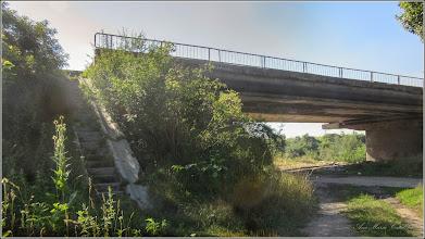 Photo: Str. Cheii -  intersectie cu Str. Funicularului - vedere pod si Str. Alba Iulia  peste raul Aries si Str. Funicularului - 2017.07.18