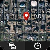 Tải trực tiếp đường phố lượt xem bản đồ Đồng hồ tốc độ miễn phí