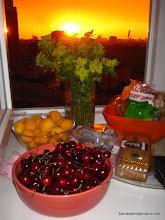 Photo: Sundown from Olga's kitchen