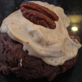 Chocolate Bourbon Pecan Cookies.