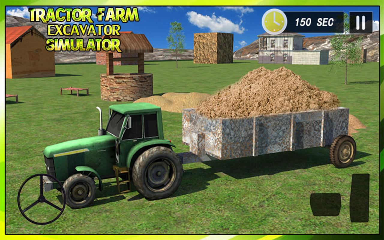 Tractor Farm & Excavator Sim- screenshot