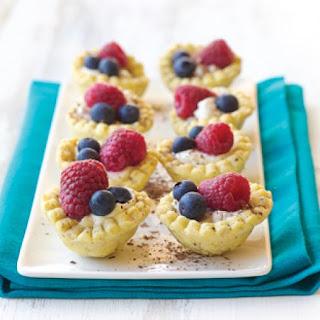 Berry Hazelnut Tarts
