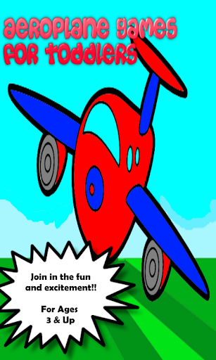 Aeroplane Games For Toddlers
