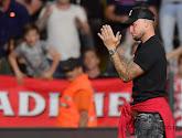 Le salut du gardien de Waasland-Beveren Debaty aux fans de l'Antwerp fait jaser