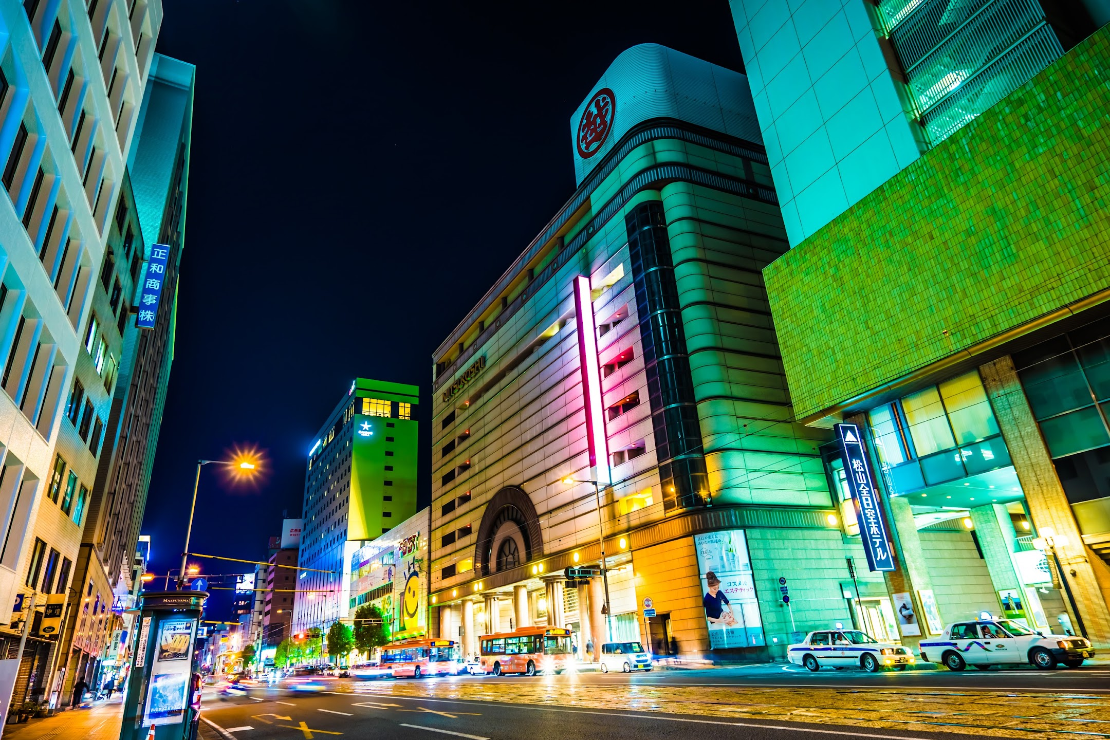 Okaido night view6