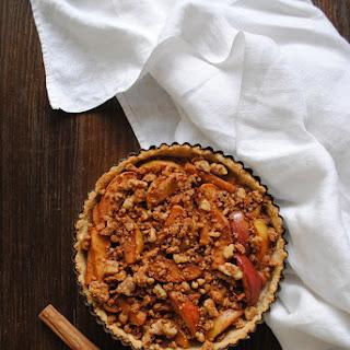 Gluten Free Apple Pie With Cinnamon Streusel