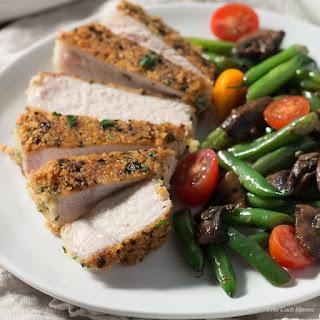 Parmesan Crusted Pork Chops (Boneless) Recipe