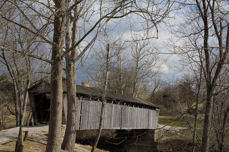 Photo: Switzer Covered Bridge, Franfort, KY