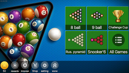 8 Ball Billiards – Offline & Online Pool Master 1