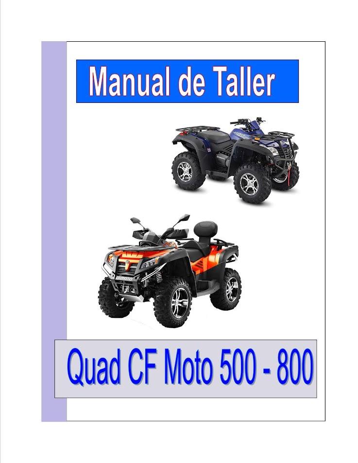 CF Moto atv quad utv manual-taller-servicio-despiece