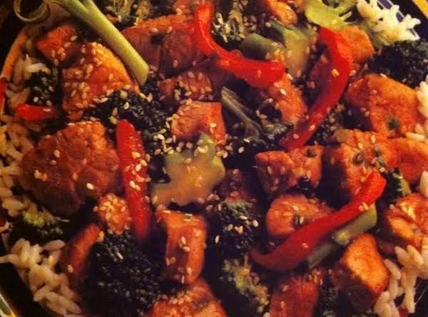 Sesame Pork With Broccoli