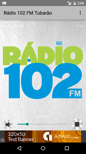 Rádio 102 FM Tubarão