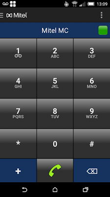 Mitel MC - screenshot