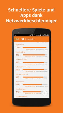Screenshot 2 Neumob- Apps beschleunigen!