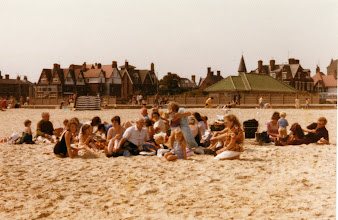 Photo: Outing lunch on Yarmouth beach