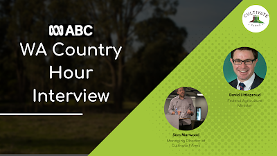 WA Country Hour Interview