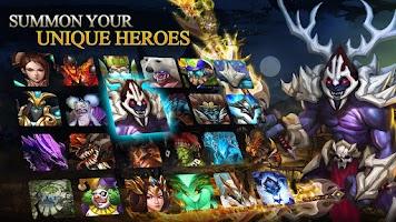 Screenshot of Heroes of Order & Chaos