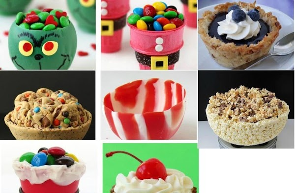 Once you have made all the Peppermint Bark Balloon Bowls you'd like and are...