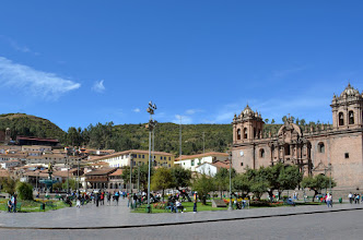 Photo: Main square in Cusco