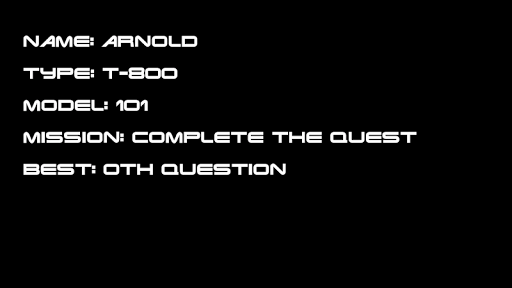 Arnold Quiz Pro