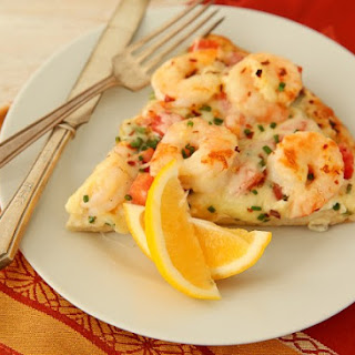 Sizzlin' Spicy Scampi Pizza