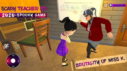 Scary Evil Teacher Game Creepy Spooky Game apktram screenshots 1