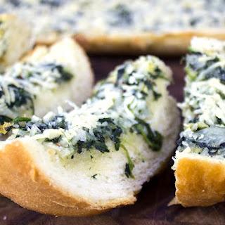 Spinach & Artichoke Dip Garlic Bread