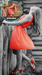 Hitam dan putih Photo Editor Mod