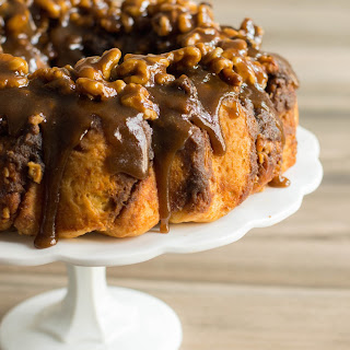 Walnut Schnecken Bundt Cake