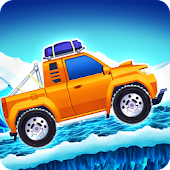 Arctic roads: car racing game