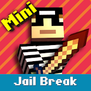 Cops N Robbers: Pixel Prison Games 1  Icon