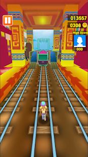 Rush Runner Train Surf 3D - náhled