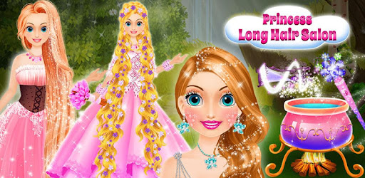 Princess Long Hair Salon Girls Long Hair Styles Apps On Google Play