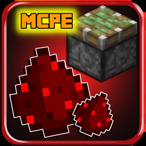RedStone Mod For Minecraft PE