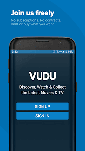 Vudu Movies & TV 7