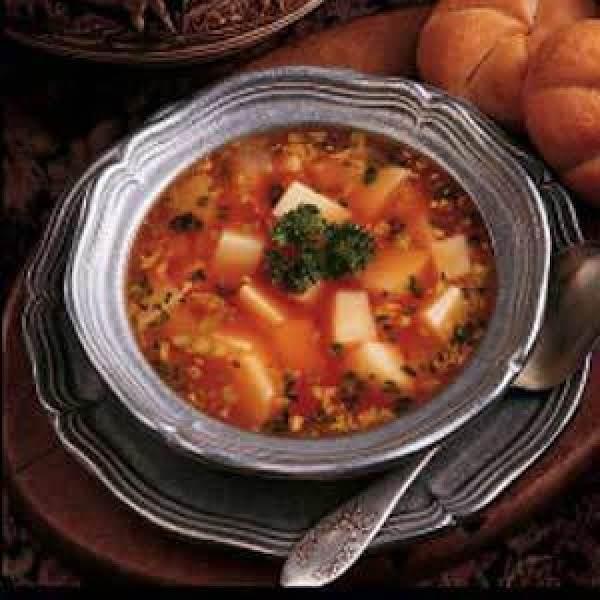 Hungarian Potato Soup Recipe